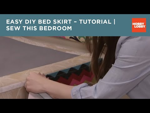Sew This Bedroom: Bedskirt