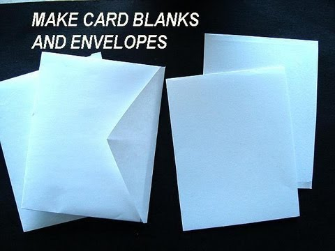 Blank recordable greeting cards make your own recordable cards make card blanks and envelopes how to diy greeting cards m4hsunfo