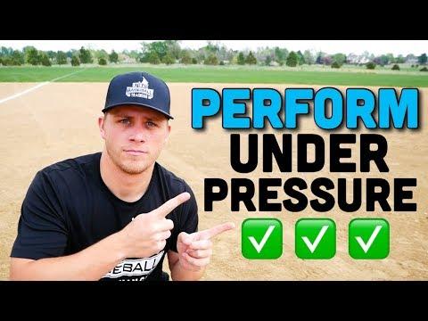 3 Best Baseball Tips For PERFORMING UNDER PRESSURE!