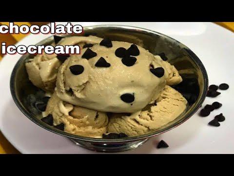 बिना गैस जलाए सिर्फ़ तीन चीज़ों से बनायें मार्केट जैसी चोकलेटआइसक्रीम।no cook chocolate icecream