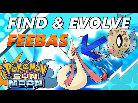 Pokémon Sun and Moon: Where to Find and Evolve Feebas into a Milotic