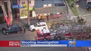1 Dead, 1 Wounded In South LA Shooting