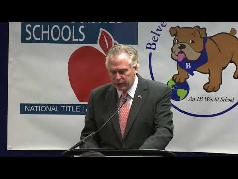 Governor McAuliffe Introduces the Budget