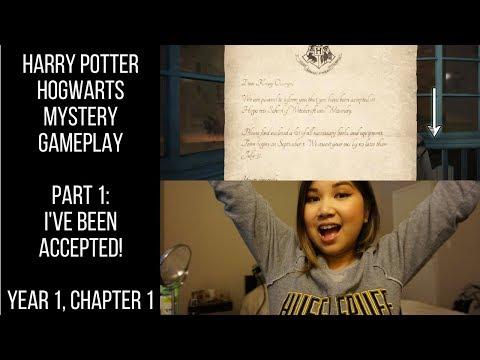 HOGWARTS ACCEPTANCE LETTER! - Harry Potter: Hogwarts Mystery - Part 1 - Year 1, Chapter 1