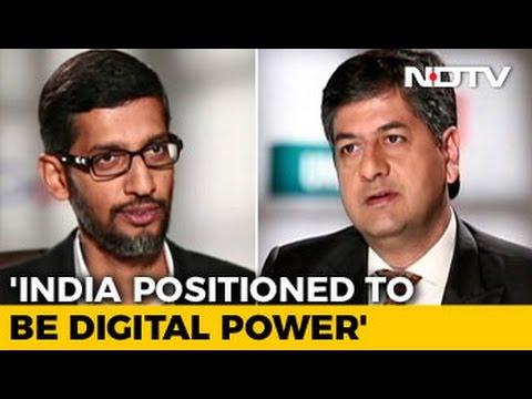 Can Google Help Digital India? Google CEO Sundar Pichai Says 'Working Hard'