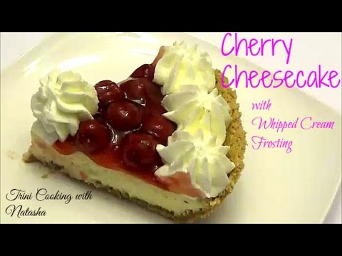 Cherry Cheese Cake - Baked - Episode 347