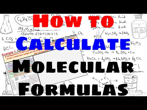 How to Calculate Molecular Formulas