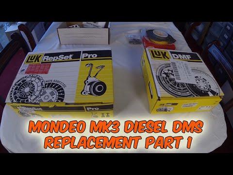 Part 1 Ford Mondeo Mk 3 Dual Mass Flywheel Failure Diesel   LUK Replacement