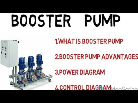 Booster  pump /control diagram