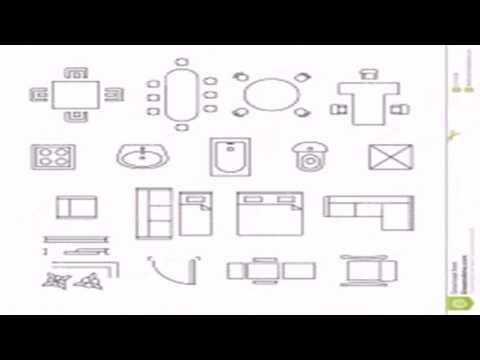 Floor Plan Symbols House