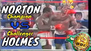 Ken Norton -vs- Larry Holmes (Highlights)