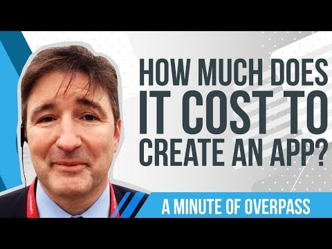 How much does it cost to create an app? A Minute of Overpass : Oxford Interactive eBook Developers
