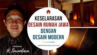 Keselarasan Desain Rumah Jawa dg Desain Modern - bersama Haji Suwantara