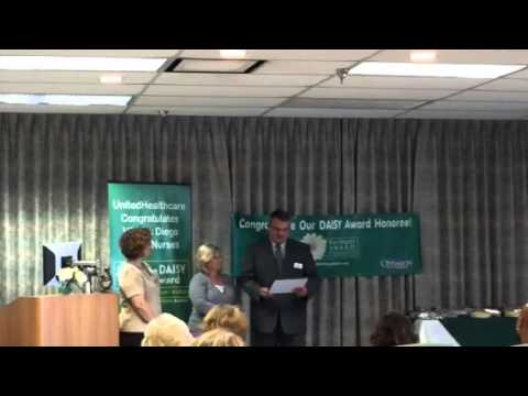 San Diego Healthcare System VA Nurse Receives DAISY Award for Extraordinary Nurses