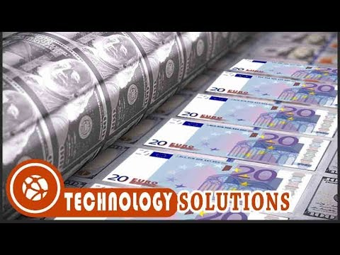1 Minute Produce 2M Euro - 20 Euro Note Print Process - Amazing Money Print Technique