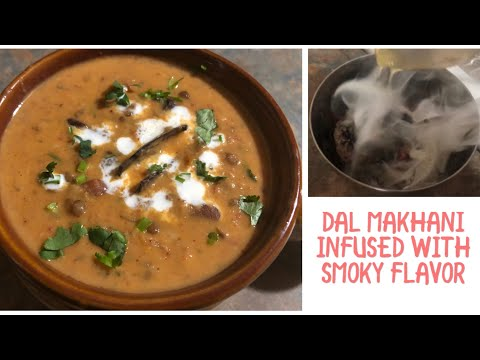 Dal Makhani infused with Charcoal Smoky Flavor/ #allin1byjoy #boskip78