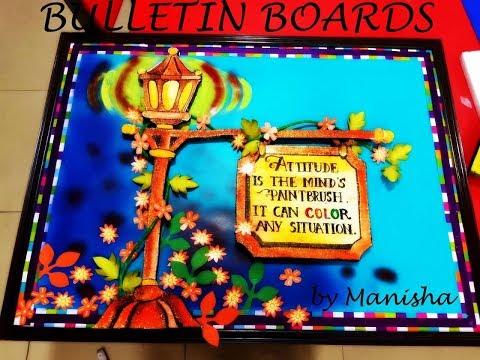 Bulletin board ideas for school and classroom