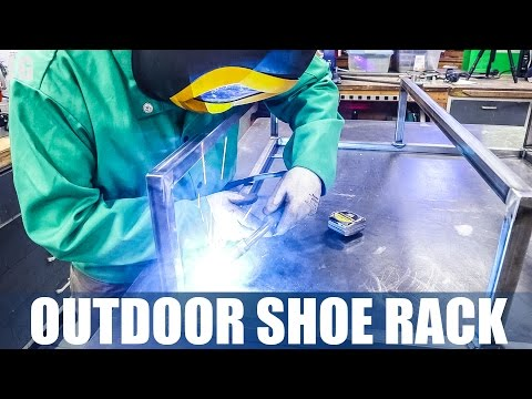 OUTDOOR SHOE RACK | JIMBOS GARAGE