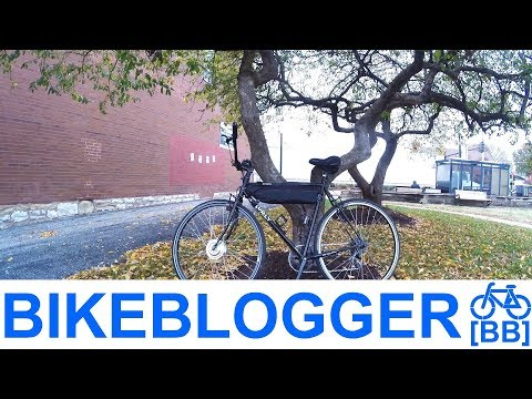 Electric Bike Full Throttle Work Commute! BikeBlogger