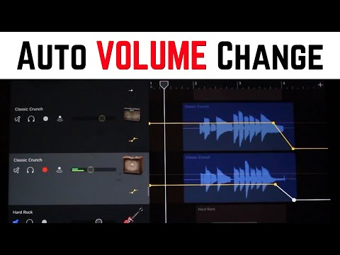 Use Automation in GarageBand iOS (iPhone/iPad) to Automatically Change Volume Levels