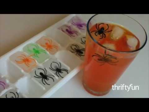 Spider Ring Ice Cubes