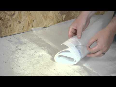 How to Install a Vapor Barrier Below Laminate Flooring : Working on Flooring