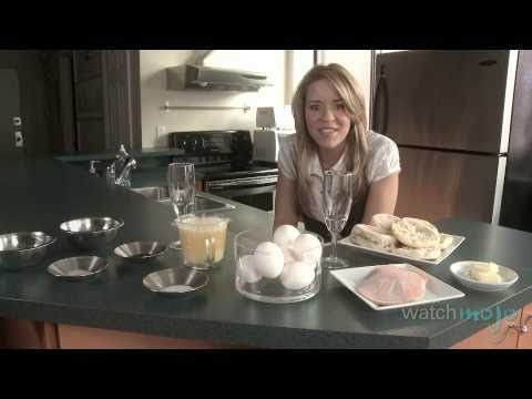 Easy Recipe for Eggs Benedict and Hollandaise Sauce