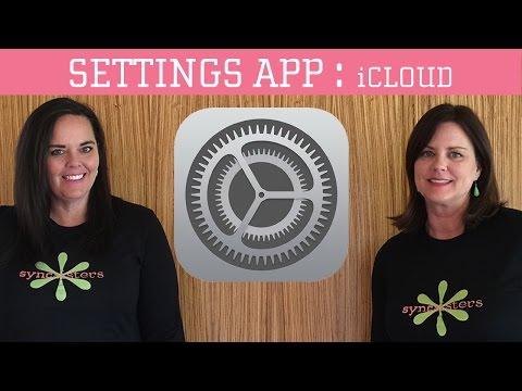 Apple iCloud Settings