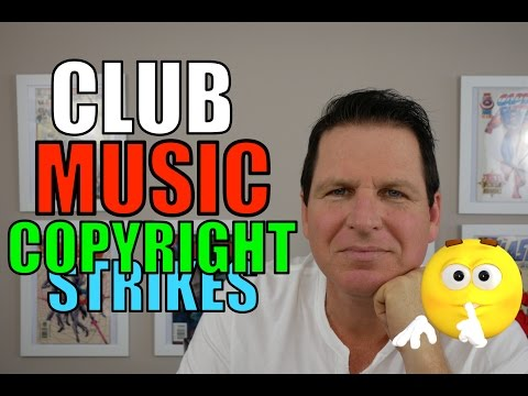 Recording in the Club - How To Avoid Copyright Infringement On youtube  (2017) - Part 2