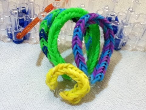 Fishtail Loom Band Bracelet, Necklace Or Ring!