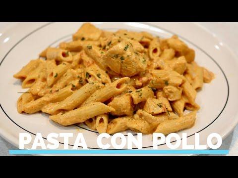 Pasta con Pollo en crema de Chipotle🍜 RECETA FACIL Y RICA