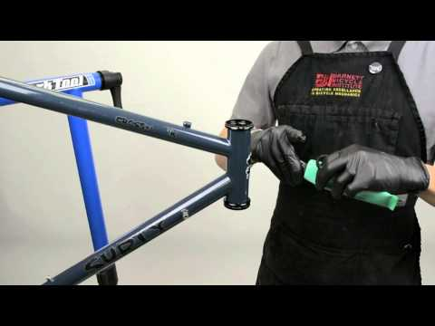 How to install a bicycle headset by Aero Tech Designs