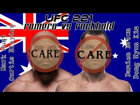 UFC 221: Romero vs Rockhold Care/Don't Care Preview