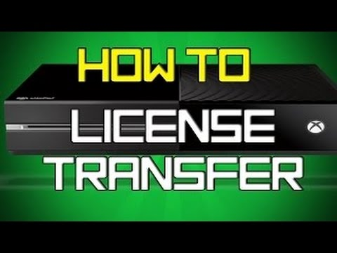 How To License Transfer Xbox 1 Games