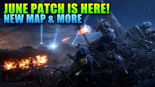 June Patch! Nivelle Nights Map & More   Battlefield 1 Update