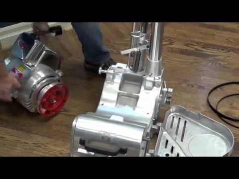 Galaxy Floor Sanding Machines: Motor Disassembly