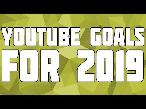 YouTube Goals 2019! 2018 Recap
