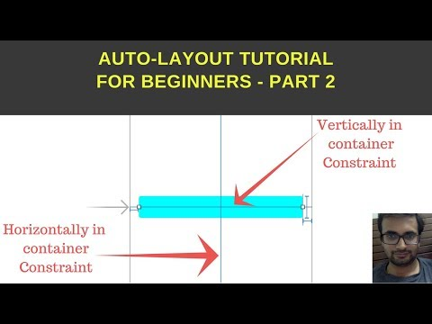 Autolayout tutorial for beginner (Xcode 9.2) - Part 2