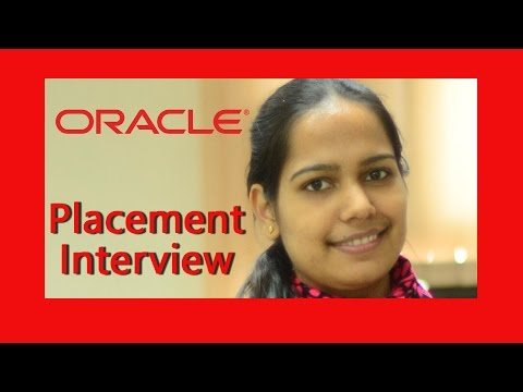 ORACLE- Job Interview