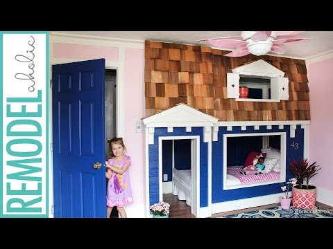 Bunk Bed Playhouse Tutorial