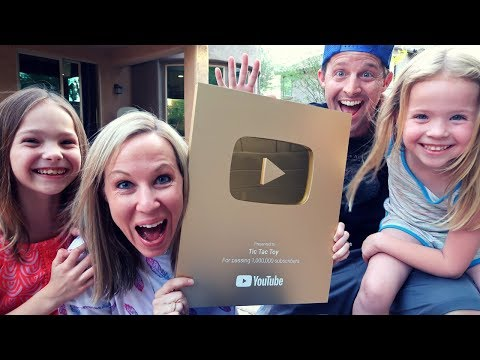 Kids Get Haircuts and a GOLD Play Button !!!