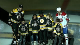 Bruins honour Willie O'Ree before game against Canadiens