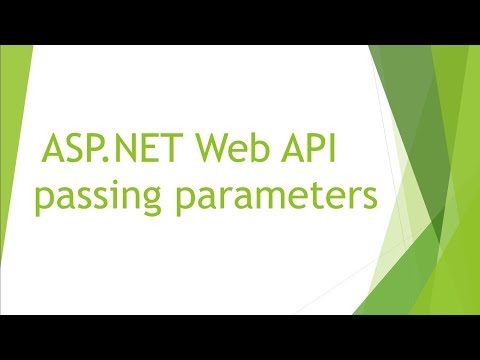 ASP.NET Web API passing parameters to the controller