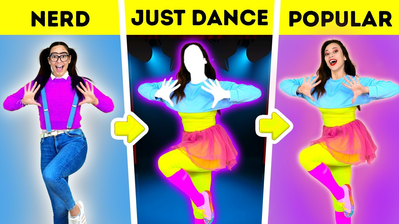 How to Become POPULAR GAMER | Just DANCE Minecraft SIMS in REAL LIFE – by La La Life Games