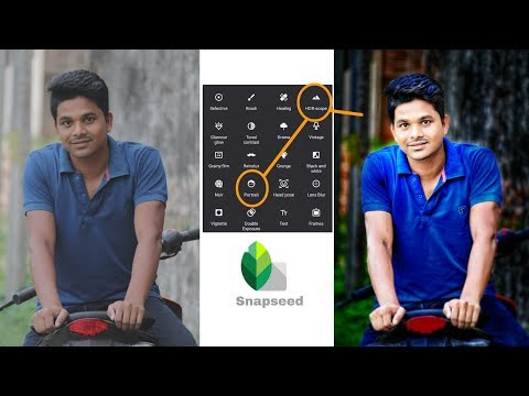 Snapseed Only 2 Tricks #Cb_Editing
