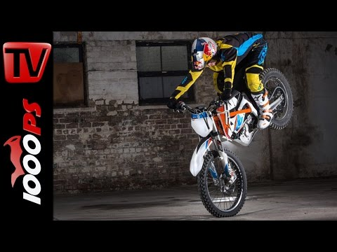 KTM FREERIDE E with Danny MacAskill | Stunts and Action