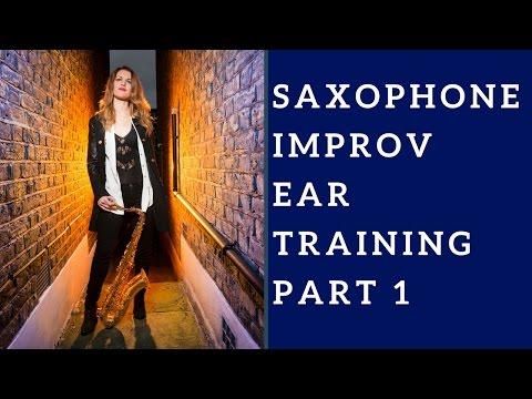 Sax Improvisation / Improv (Video 2): Ear Training. 🎶 Saxophone lesson/tutorial.