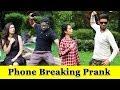 Phone Breking Prank On Girls Prank In India 2019 Funday Pranks