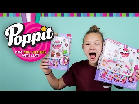 Poppit Clay Creations by Moose Toys | DIY Clay Craft Set