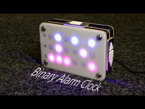 Arduino based Binary Alarm Clock -  How to build it